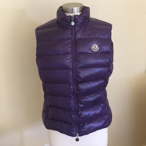 moncler jackets coats down vest for women poshmark rh poshmark com
